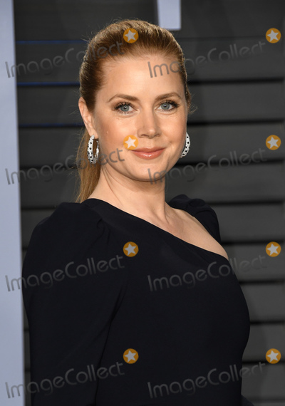 Amy Adams Photo - 04 March 2018 - Los Angeles California - Amy Adams 2018 Vanity Fair Oscar Party hosted following the 90th Academy Awards held at the Wallis Annenberg Center for the Performing Arts Photo Credit Birdie ThompsonAdMedia