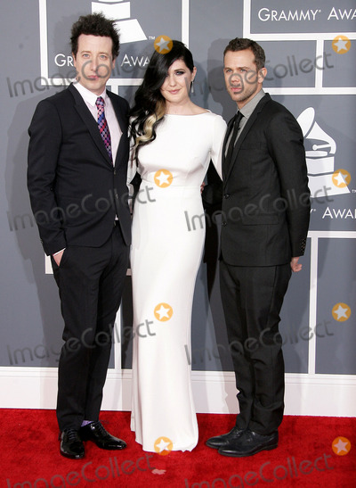 Anthony Gonzalez Photo - 10 February 2013 - Los Angeles California - Morgan Kibby and Anthony Gonzalez of M83 The 55th Annual GRAMMY Awards held at STAPLES Center Photo Credit AdMedia