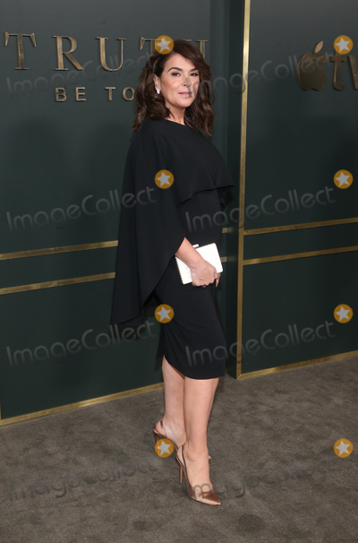 Annabella Sciorra Photo - 11 November 2019 - Beverly Hills California - Annabella Sciorra Premiere Of Apple TVs Truth Be Told held at AMPAS Samuel Goldwyn Theater Photo Credit FSAdMedia