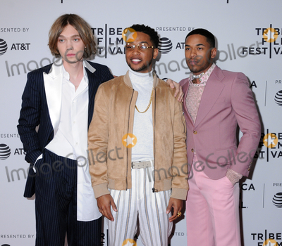 Jacob Latimore Photo - Charlie Plummer Jacob Latimore and Kelvin Harrison Jr at the 2019 Tribeca Film Festival Premiere of GULLY held at the SVA Theater in Chelsea in New York New York USA 27 April 2019
