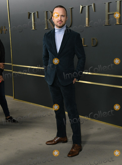 Samuel Goldwyn Photo - 11 November 2019 - Beverly Hills California - Aaron Paul Apple TVs Truth Be Told Los Angeles Premiere held at Samuel Goldwyn Theater Photo Credit Birdie ThompsonAdMedia