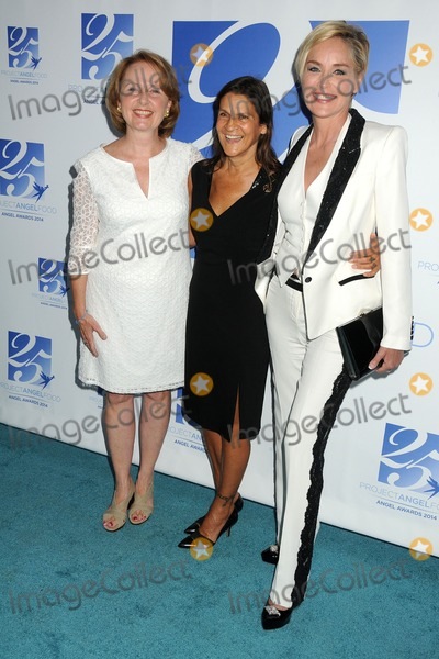 Aileen Getty Photo - 6 September 2014 - Los Angeles California - Kate Burton Aileen Getty Sharon Stone Project Angel Food Celebrates 25 Years with 2014 Angel Awards held at Project Angel Food Photo Credit Byron PurvisAdMedia