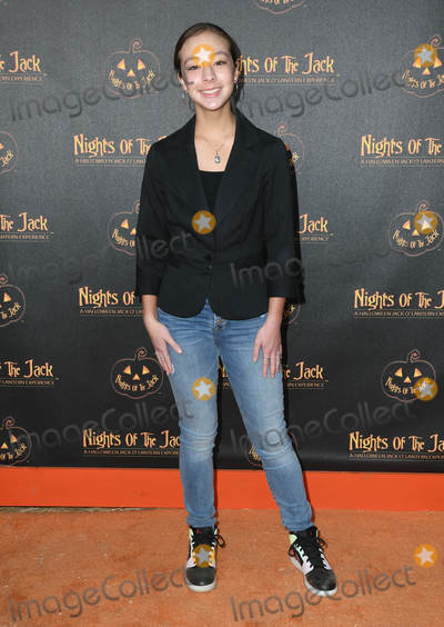 Aubrey Anderson Photo - 02 October 2019 - Calabasas California - Aubrey Anderson Emmons Nights of the Jack s Friends and Family VIP Preview Night held at The King Gillette Ranch Photo Credit Birdie ThompsonAdMedia