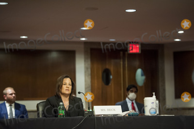 Beck Photo - Nancy B Beck of New York offers her opening statement during a Senate Commerce Science and Transportation Confirmation Hearing to be a Commissioner and Chairman of the Consumer Product Safety Commission in the Dirksen Senate Office Building on Capitol Hill in Washington DC Tuesday June 16 2020 Credit Rod Lamkey  CNPAdMedia