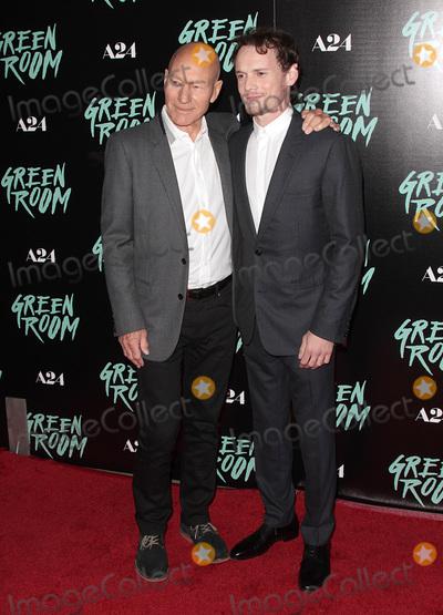 Anton Yelchin Photo - 13 April 2016 - Los Angeles California - Patrick Stewart Anton Yelchin Green Room Los Angeles Premiere held at  Arclight Hollywood Photo Credit Adam OrchonAdMedia