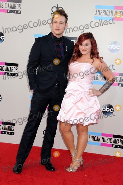 James Durbin Photo - 24 November 2013 - Los Angeles California - James Durbin Heidi Lowe 2013 American Music Awards - Arrivals held at Nokia Theatre LA Live Photo Credit Byron PurvisAdMedia