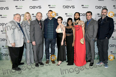 ALLISON PILL Photo - 02 March 2020 - Hollywood California - Stephen McKinley Henderson Allison Pill Zach Grenier Nick Offerman Cailee Spaeny Linnea Berthelsen Jin Na Alex Garland FXs Devs Los Angeles Premiere held at Arclight Hollywood  Photo Credit Birdie ThompsonAdMedia