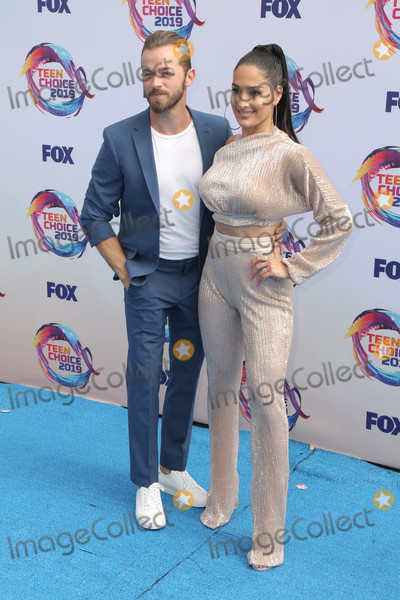 Artem Chigvintsev Photo - 11 August 2019 - Hermosa Beach California - Brie Bella Brie Bella  Artem Chigvintsev FOXs Teen Choice Awards 2019 held at Hermosa Beach Pier Photo Credit PMAAdMedia