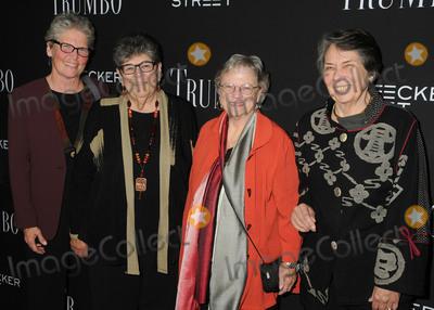 Niki Trumbo Photo - 27 October 2015 - Beverly Hills California - Judith Wright Susan Schreiber Karen Fite Niki Trumbo Trumbo Los Angeles Premiere held at the AMPAS Samuel Goldwyn Theater Photo Credit Byron PurvisAdMedia