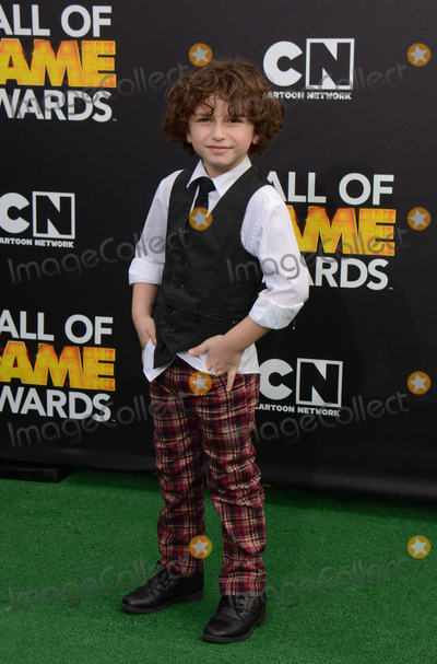 August Maturo Photo - 15 February 2014 - Santa Monica California - August Maturo 2014 Cartoon Networks Fourth Annual Hall of Game Awards held at the Barker Hangar Photo Credit AdMedia