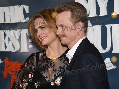 Emily Deschanel Photo - 29 January 2020 - Hollywood California - Emily Deschanel and David Hornsby Premiere of Apple TVs Mythic Quest Ravens Banquet at The Cinerama Dome Photo Credit Billy BennightAdMedia