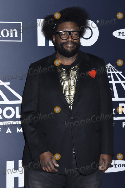 Questlove Photo - 29 March 2019 - Brooklyn New York - QuestLove at the Rock  Roll Hall of Fame Induction Ceremony arrivals at the Barclays Center Photo Credit LJ FotosAdMedia