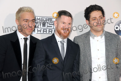 Andy Hurley Photo - 22 November 2015 - Los Angeles California - Pete Wentz Andy Hurley Joe Trohman Fall Out Boy 2015 American Music Awards - Arrivals held at Microsoft Theater Photo Credit Byron PurvisAdMedia