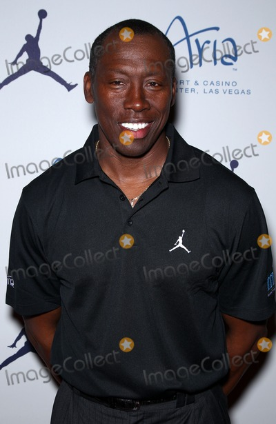 Al Joyner Photo - 30 March 2011 - Las Vegas Nevada - Al Joyner  Michael Jordan Celebrity Invitational welcome reception at Haze Nightclub inside Aria Hotel and Casino at CityCenter Photo MJTAdMedia