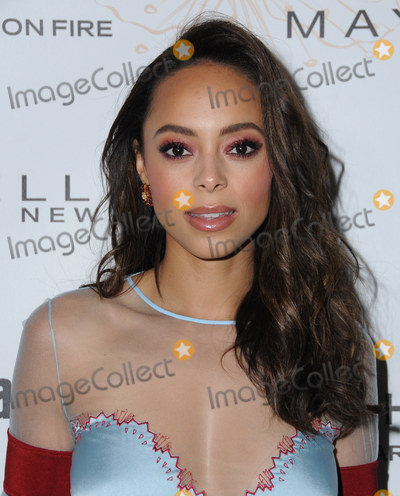 Amber Stevens-West Photo - 20 January 2018 - Hollywood California - Amber Stevens West 2018 Entertainment Weekly Pre-SAG Awards Party held at Chateau Marmont Photo Credit Birdie ThompsonAdMedia