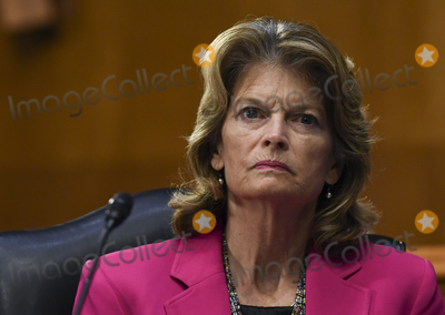 alaska Photo - United States Senator Lisa Murkowski (Republican of Alaska) listens to testimony during the US Senate Committee for Health Education Labor and Pensions hearing to examine COVID-19 and Safely Getting Back to Work and Back to School on Tuesday May 12 2020 Credit Toni L Sandys  Pool via CNPAdMedia