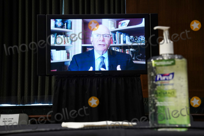 Foreigner Photo - Sen Ben Cardin (D-Md) remotely questions Samantha Power nominee to be Administrator of the United States Agency for International Development her Senate Foreign Relations Committee confirmation hearing on Tuesday March 23 2021Credit Greg Nash  Pool via CNPAdMedia