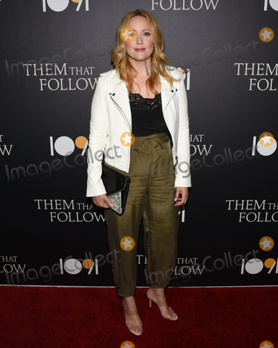 Annie Tedesco Photo - 30 July 2019 - Los Angeles California - Annie Tedesco Them That Follow Los Angeles Premiere held at the Landmark Theatre Photo Credit Billy BennightAdMedia