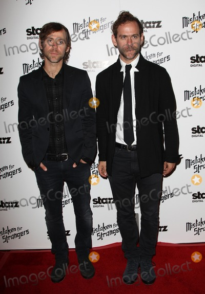 Aaron Dessner Photo - 25 March 2014 - Los Angeles California - Aaron Dessner Bryce Dessner Los Angeles Screening Of Mistaken For Strangers Los Angeles Gala Dinner Held at The Shrine Auditorium Photo Credit FSadouAdMedia