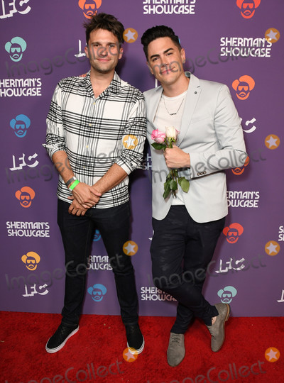 Tom Sandoval Photo - 30 July 2019 - West Hollywood California - Tom Schwartz Tom Sandoval IFCs Shermans Showcase Premiere Party held at The Peppermint Club Photo Credit Birdie ThompsonAdMedia