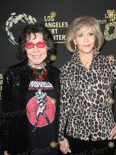 Lily Tomlin Photo - 21 September 2019 - Los Angeles California - Lily Tomlin Jane Fonda Los Angeles LGBT Centers Gold Anniversary Vanguard Celebration Hearts Of Gold held at The Greek Theatre Photo Credit FSadouAdMedia