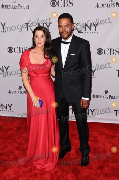 Annabella Sciorra Photo - 12 June 2011 - New York City NY - Annabella Sciorra Maxwell  The 2011 Tony Awards held at The Beacon Theater Photo Credit Christopher SmithAdMedia