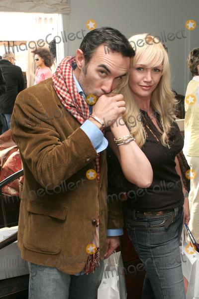 Francesco Quinn Photo - 06 August 2011 - Actor Francesco Quinn the third son of actor Anthony Quinn died at his home in Malibu on August 5 2011 reportedly from a heart attack Francesco was best known for his roles in Platoon and television series JAG and 24 File Photo 14 January 2006 -  Beverly Hills California - Francesco Quinn and wife Julie Quinn Showtime Style 2006 Retreat for the 2006 Golden Globe Awards  held at the Luxe Hotel Photo Credit Zach LippAdMedia