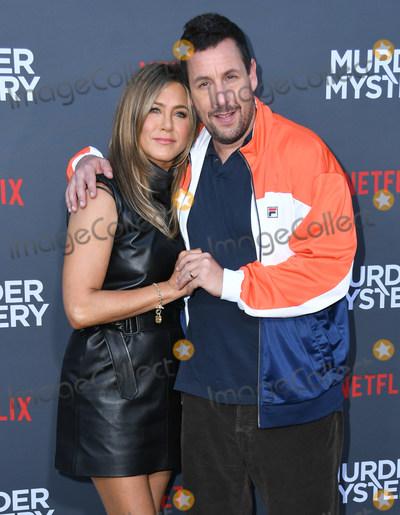 Adam Sandler Photo - 10 June 2019 - Westwood California - Jennifer Aniston Adam Sandler Netflixs Murder Mystery Los Angeles Premiere held at Regency Village Theater Photo Credit Birdie ThompsonAdMedia