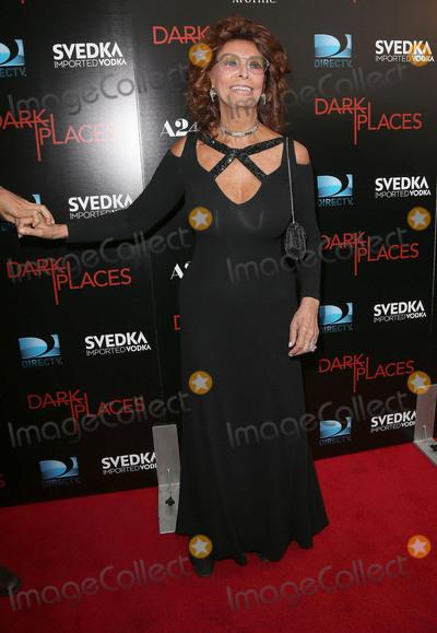 Sophia Loren Photo - 21 July 2015 - Los Angeles California - Sophia Loren Dark Places Los Angeles Premiere held at Harmony Gold Theatre Photo Credit F SadouAdMedia
