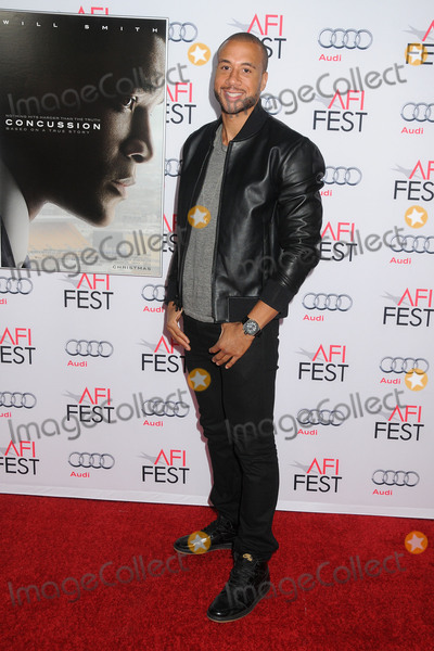 Aaron Hines Photo - 10 November 2015 - Hollywood California - Aaron Hines AFI FEST 2015 - Concussion Premiere held at the TCL Chinese Theatre Photo Credit Byron PurvisAdMedia