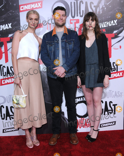 Julia Crockett Photo - 01 June 2016 - Los Angeles California - Julia Crockett Patrick Fugit Kate Lyn Sheil Arrivals for the Los Angeles premiere for Cinemaxs Outcast held at CINESPIA At Hollywood Forever Cemetery Photo Credit Birdie ThompsonAdMedia