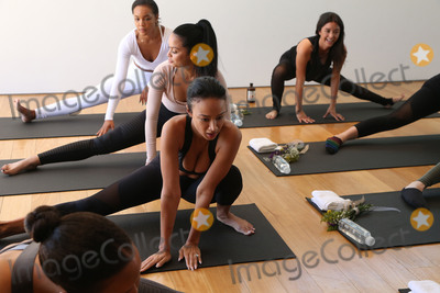 Adrienne Bailon Photo - 31 March 2017 - Beverly Hills California - Draya Michele Serayah McNeill Brittany Hampton Martha Michelle Adrienne Eliza Houghton aka Adrienne Bailon Draya Michele and Friends at AloYoga Photo Credit AdMedia