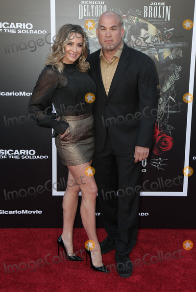 Nicole Miller Photo - 26 June 2018 - Westwoof California - Tito Ortiz Amber Nicole Miller Premiere of Sicario Day of the Soldado held at Westwood Regency Theater  Photo Credit PMAAdMedia