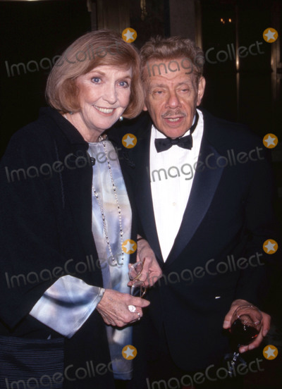 Ann Meara Photo - 11 May 2020 - Comedy veteran Jerry Stiller has died at the age of 92 Jerry Stiller was known for his role as Frank Costanza in the show Seinfeld and later as Arthur Spooner in the sitcom The King of QueensStiller had lost his wife Anne Meara in 2015 File photoFILE PHOTO Anne Meara and Jerry Stiller attend A Broadway Frolic A benefit for the National Actors Theater at the Plaza Hotel on 10191998 in New York City Photo Credit McBrideface to faceAdMedia