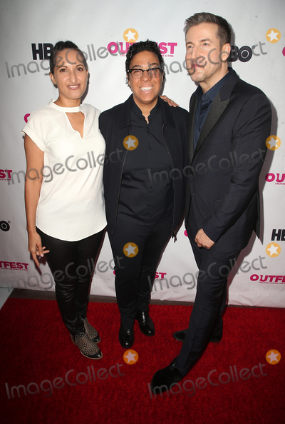 Angela Robinson Photo - 12 July 2018 - Los Angeles California - Lucy Mukerjee Angela Robinson Christopher Racster  2018 Outfest Los Angeles LGBT Film Festival Opening Night Gala of STUDIO 54 at the Orpheum Theatre Photo Credit F SadouAdMedia