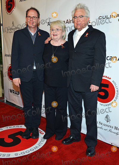 Ron Yerxa Photo - 26 February 2014 - Los Angeles California - June Squibb Ron Yerxa and Albert Berger TheWrapcom Pre-Oscar Party held at Culina Restaurant at the Four Seasons Hotel Photo Credit Christine ChewAdMedia