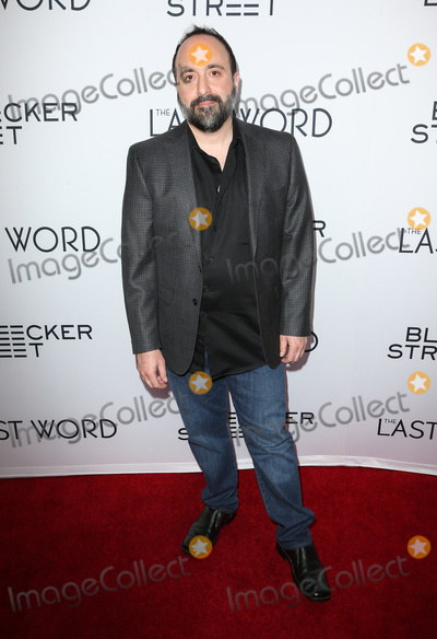Aaron Magnani Photo - 01 March 2017 - Hollywood California - Aaron Magnani The Last Word Los Angeles Premiere held at ArcLight Hollywood Photo Credit AdMedia