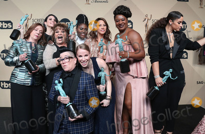 Annie Golden Photo - 29 January 2017 - Los Angeles California - Danielle Brooks Selenis Leyva Adrienne C Moore Yael Stone Madeline Brewer Abigail Savage Annie Golden Emma Myles Lin Tucci Beth Fowler Dascha Polanco Lea DeLaria 23rd Annual Screen Actors Guild Awards held at The Shrine Expo Hall Photo Credit F SadouAdMedia