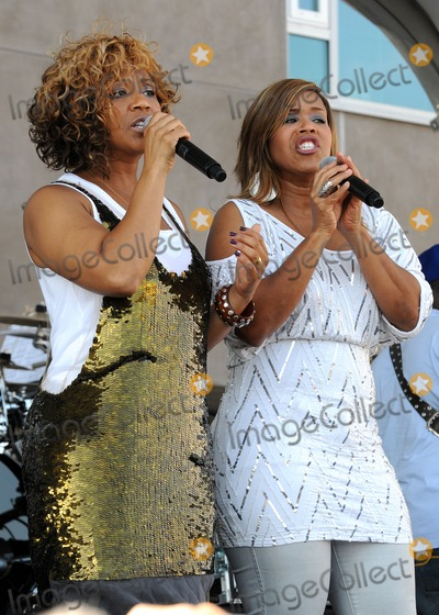 Tina Atkins Campbell Photo - 30 July 2011 - Santa Monica California - Tina Atkins-Campbell and Erica Atkins-Campbell of Mary Mary 2011 GRAMMY Block Party Charity Fundraiser for PATH held at The Recording Academy Photo Credit Byron PurvisAdMedia