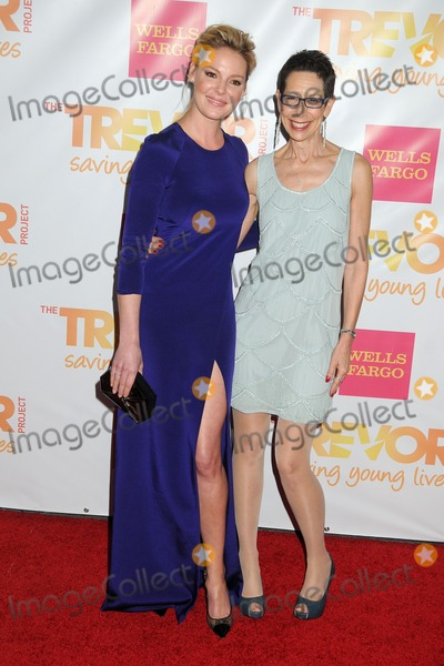 Abbe Land Photo - 7 December 2014 - Hollywood California - Katherine Heigl Abbe Land The Trevor Projects TrevorLive Los Angeles Benefit 2014 held at the Hollywood Palladium Photo Credit Byron PurvisAdMedia