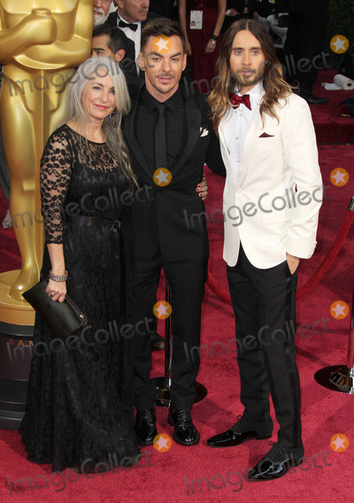 Shannon Leto Photo - 02 March 2014 - Hollywood California - Constance Leto Jared Leto Shannon Leto 86th Annual Academy Awards held at the Dolby Theatre at Hollywood  Highland Center Photo Credit Russ ElliotAdMedia