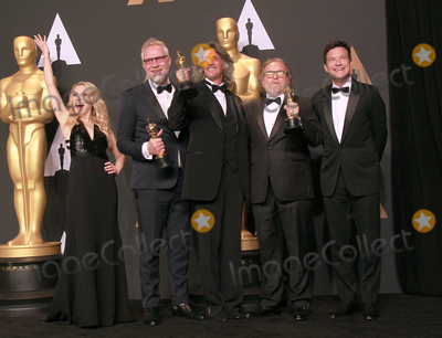 Alessandro Bertolazzi Photo - 26 February 2017 - Kate McKinnon Giorgio Gregorini Alessandro Bertolazzi Christopher Allen Nelson Jason Bateman 89th Annual Academy Awards presented by the Academy of Motion Picture Arts and Sciences held at Hollywood  Highland Center Photo Credit Theresa ShirriffAdMedia
