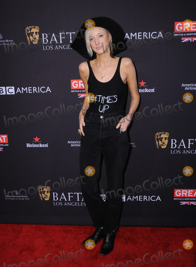 Andrea Riseborough Photo - 06 January 2018 - Beverly Hills California - Andrea Riseborough 2018 BAFTA Tea Party held at The Four Seasons Los Angeles at Beverly Hills in Beverly Hills Photo Credit Birdie ThompsonAdMedia