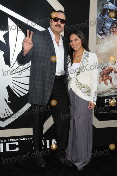 Aneliz Aguilar Photo - 9 July 2013 - Hollywood California - Pepe Aguilar Aneliz Aguilar Pacific Rim Los Angeles Premiere held at the Dolby Theatre Photo Credit Byron PurvisAdMedia
