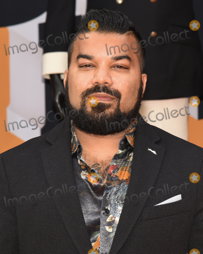 Adrian Dev Photo - 28 September 2019 - Los Angeles California - Adrian Dev Netflixs Dolemite Is My Name Los Angeles Premiere held at Regency Village Theatre Photo Credit Billy BennightAdMedia