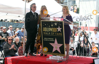 Goldie Photo - 04 May 2017 - Hollywood California - Kurt Russell Goldie Hawn Reese Witherspoon Goldie Hawn And Kurt Russell Honored With Double Star Ceremony On The Hollywood Walk Of Fame Photo Credit AdMedia