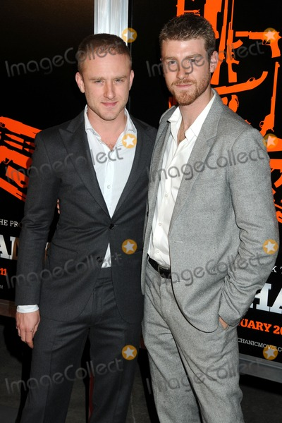 John Foster Photo - 25 January 2011 - Hollywood California - Ben Foster and John Foster The Mechanic Los Angeles Premiere held at Arclight Cinemas Photo Byron PurvisAdMedia