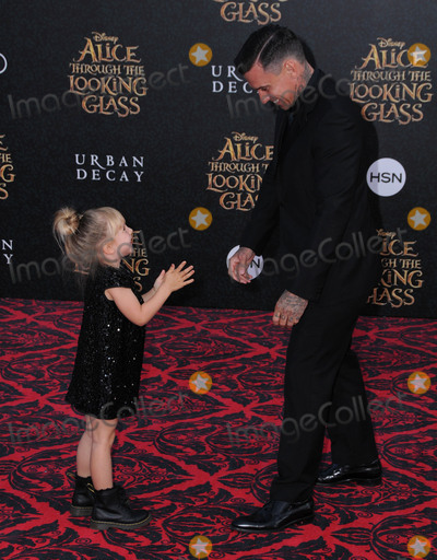 Carey Hart Photo - 24 May 2016 - Hollywood California - Willow Sage Hart Carey Hart Arrivals for the Premiere Of Disneys Alice Through The Looking Glass held at El Capitan Theater Photo Credit Birdie ThompsonAdMedia