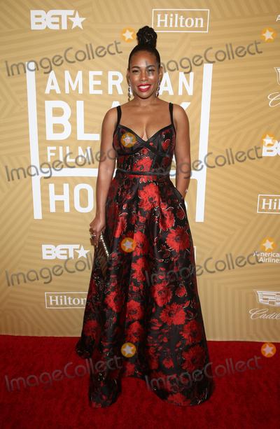 Angela Lewis Photo - 23 February 2020 - Beverly Hills California - Angela Lewis American Black Film Festival Honors Awards Ceremony held at The Beverly Hilton Hotel Photo Credit FSAdMedia