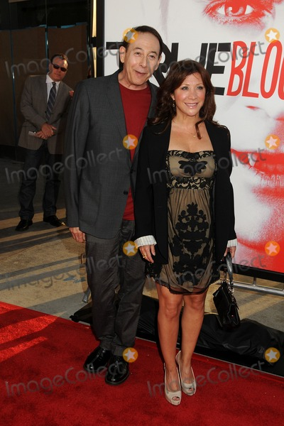 Paul Reubens- Photo - 30 May 2012 - Hollywood California - Paul Reubens Cheri Oteri HBOs True Blood Season 5 Premiere Photo Credit Byron PurvisAdMedia